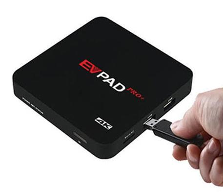 EVPAD,電視盒,直播電視盒