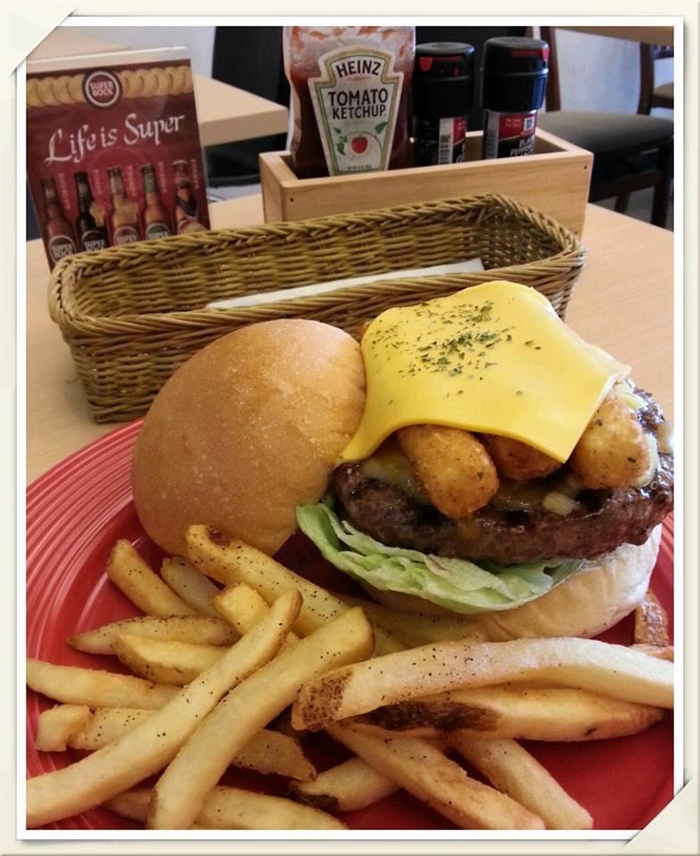 塔塔魚漢堡