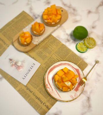 芒果輕柔乳酪塔-預購